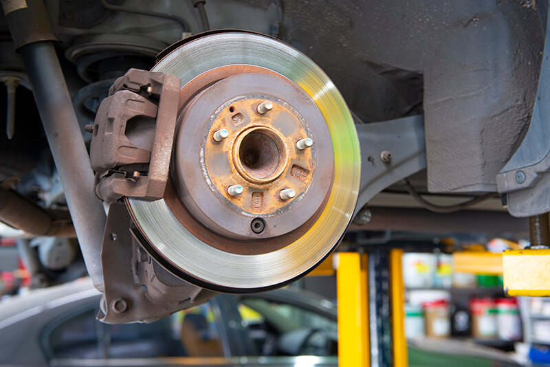 Noranda Service Centre Gallery Images - Car Brake System Behind the Wheels