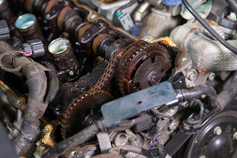 Noranda Service Centre Gallery Images - Car Engine Opened
