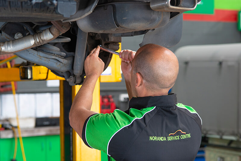 Noranda Service Centre Gallery Images - Checking and Tightening of Car Parts