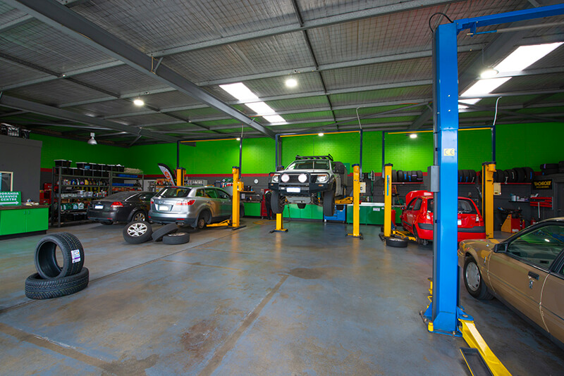 Noranda Service Centre Gallery Images - Full View of the Showroom