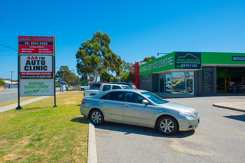 Noranda Service Centre Gallery Images - Noranda Service Centre View from the Car Parking Area